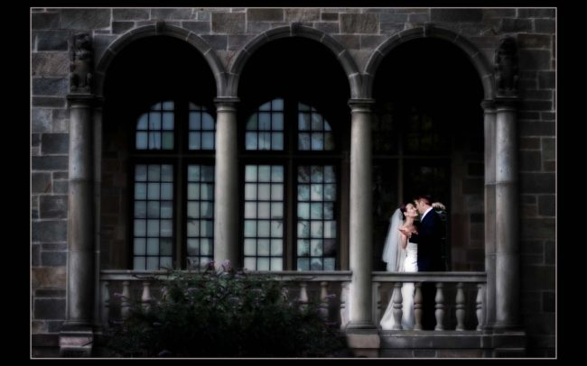 Wedding photography at Fairfield University