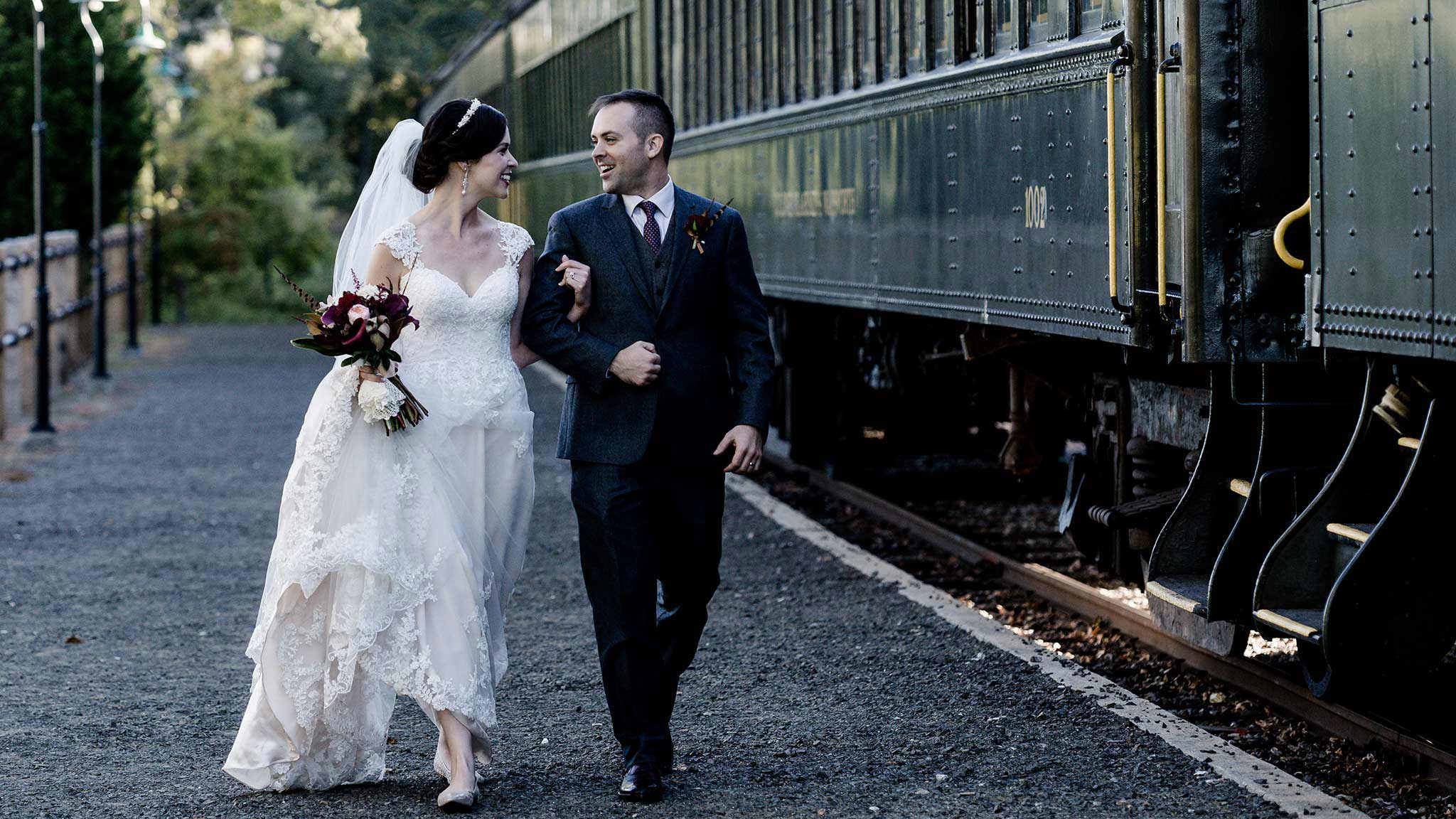 Es Steamtrain Ct Wedding Photography